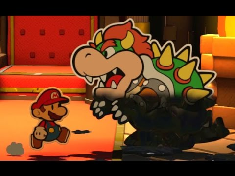 Paper Mario: Color Splash Walkthrough Finale - Black Bowser's Castle (Final Boss & Ending)