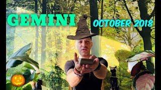 Video GEMINI October 2018 - HUGE MONTH! - Big Opportunity & Love - Gemini Horoscope Tarot download MP3, 3GP, MP4, WEBM, AVI, FLV September 2018