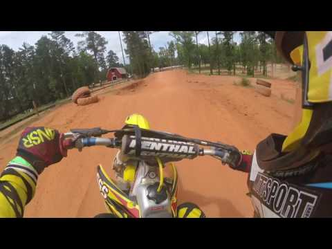 Durhamtown Bomber Track on RMZ 250 6/12/17