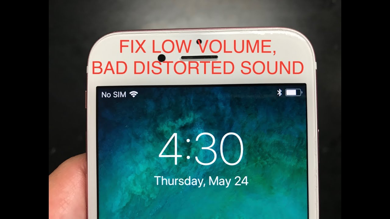 FIX APPLE IPHONE 10/10S EAR SPEAKER, LOW VOLUME MUFFLED SOUND. EASY NO COST  FIX!