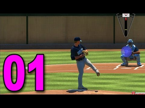 MLB 17 Pitch to the Show - Part 1 - We Made a Pitcher!