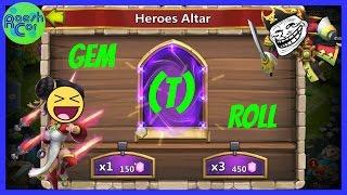 Gem (T)Roll Legendärster Troll ever ಠ Castle Clash Schloss Konflikt [Deutsch] RaeshCor