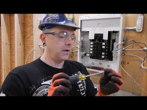 CVE Electrical Trades - Wiring a Residential Combination Panel