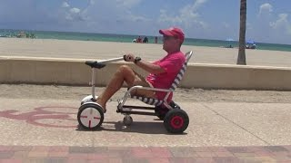 Ride Segway Mini Pro Seating with a HoverSeat!(HoverSeat available at http://www.boatstogo.com/HoverSeat.asp Video shows do-it-yourself modification of HoverSeat to make it work with Segway Mini Pro., 2016-07-26T02:37:46.000Z)