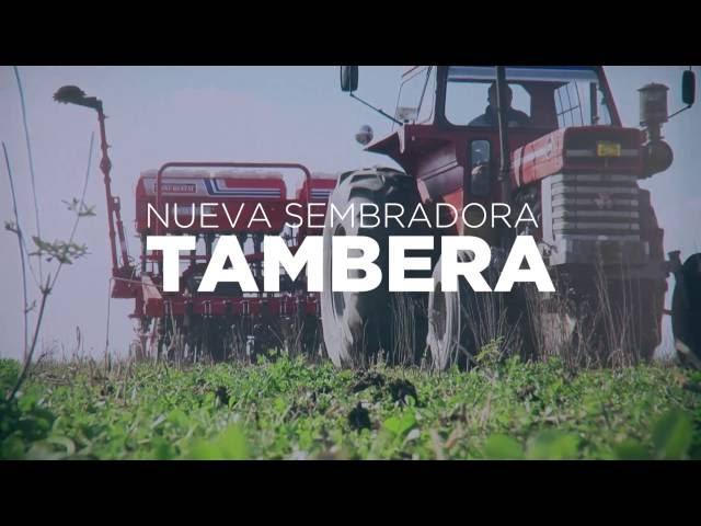 Sembradora Monumental Tambera, modelo 4600 conceptos de Jorge Molini departamento ventas.