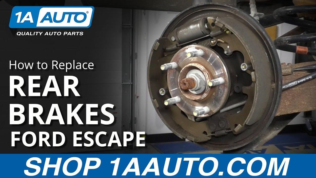 For 2008-2012 FORD ESCAPE Rear Brake Drums Brake Shoes /& Brake Spring Set 4p 2