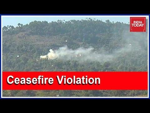 Pakistan Violates Ceasefire in Akhnoor Sector Along LoC InJammu & Kashmir