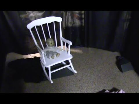how to make haunted rocking chair part 1 youtube. Black Bedroom Furniture Sets. Home Design Ideas