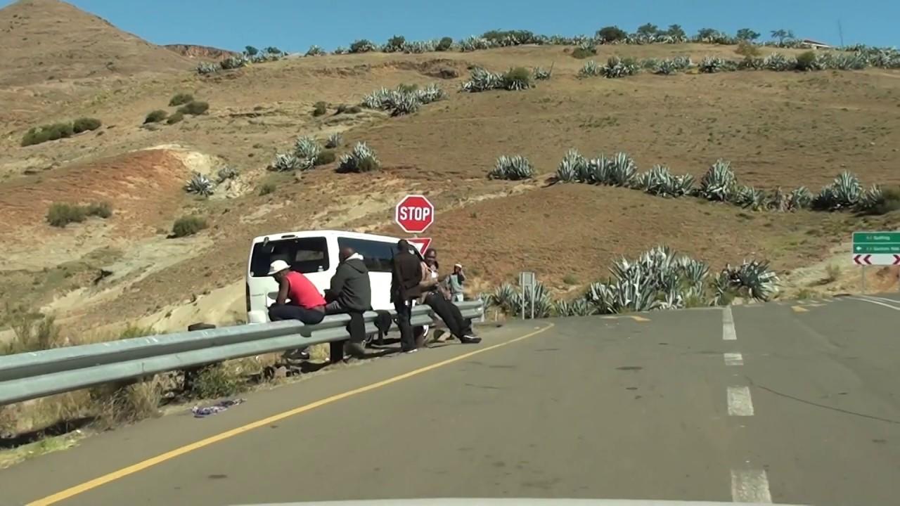 Download Driving from Maseru to Qachas Nek via Semonkong