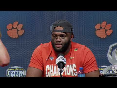Dabo Swinney, Trevor Lawrence, Austin Bryant Cotton Bowl postgame press conference
