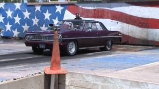 Pro Street 1964 Chevelle at Sturgis Dragway 6-02-13