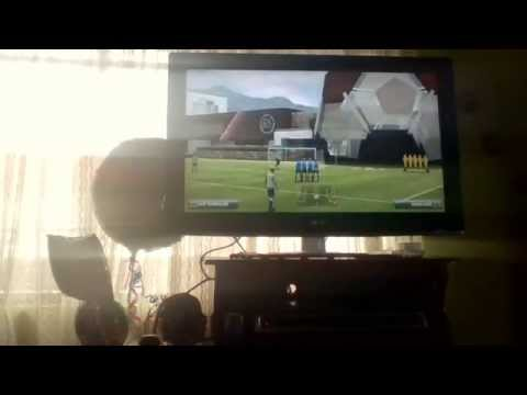 Como patear tiros libres en FIFA 14  ps3