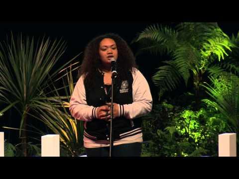 Black Polynesia: Marina Alefosio at TEDxAuckland