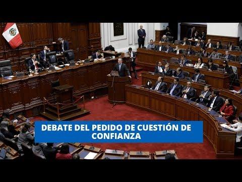 CUESTIÓN DE CONFIANZA: CUATRO BANCADAS A FAVOR DE OTORGARLA #21NOTICIAS