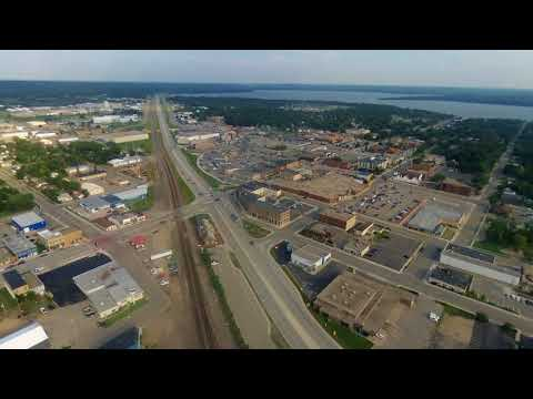 Detroit Lakes City Center Aerial