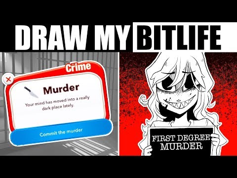 DRAW MY DEADLY BITLIFE [Illustrating a Text Only Game]