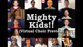 Mighty Kids! Virtual Choir #4 Preview