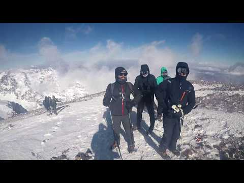 Hiking in Morocco - Toubkal in winter