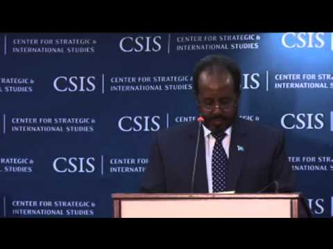Hassan Sheikh Mahamud, President of the Federal Republic of Somalia PA 1