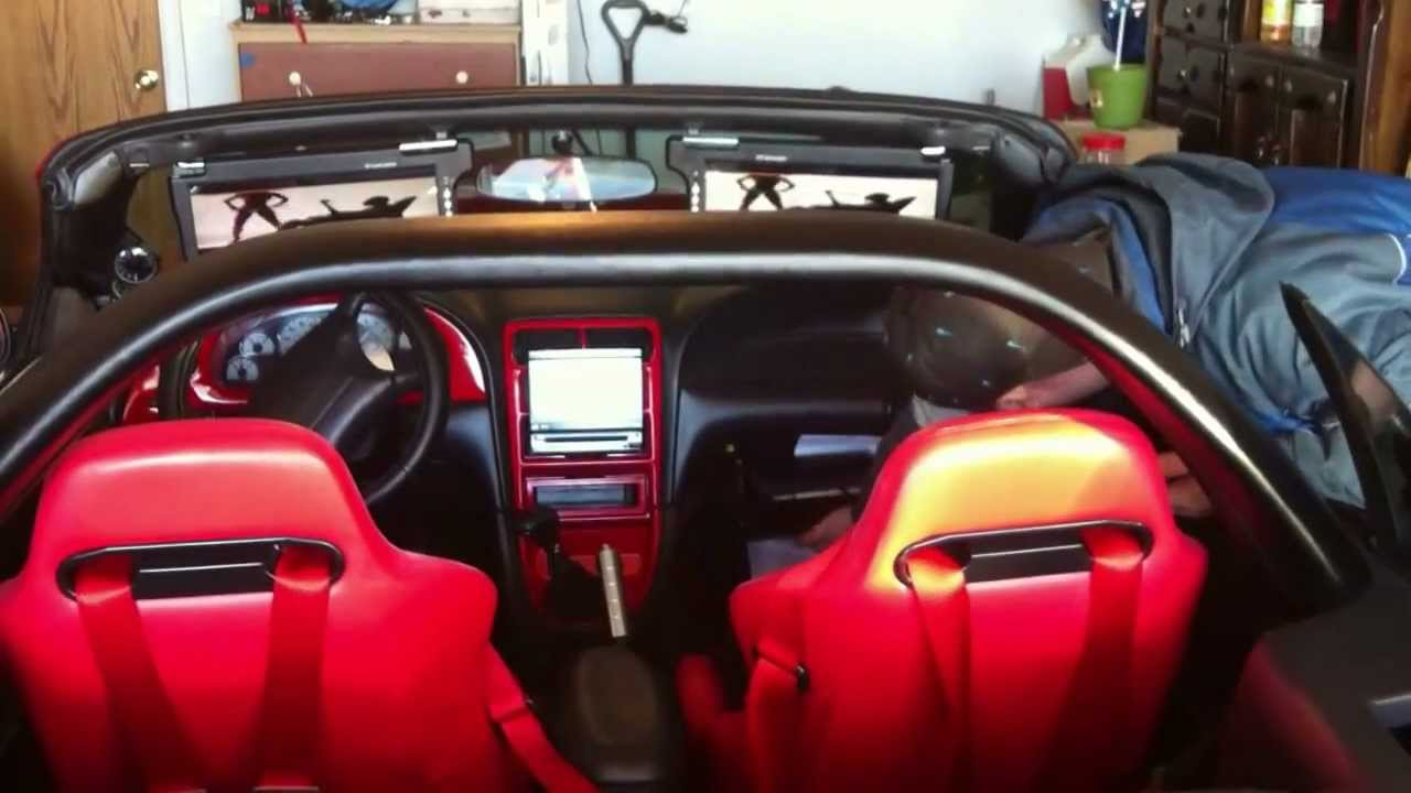 medium resolution of 99 cobra mustang full custom from interior to custom audio and everything in between