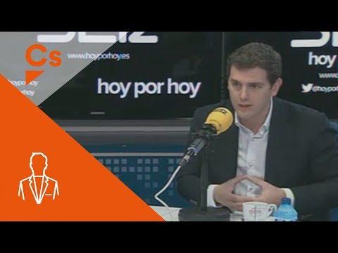 """Albert Rivera. Entrevista en """"Hoy por hoy"""" de la Cadena SER"""