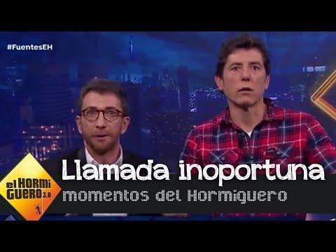 «Estoy haciendo el amor con mi novia», la contestación a Manel Fuentes — El Hormiguero 3.0