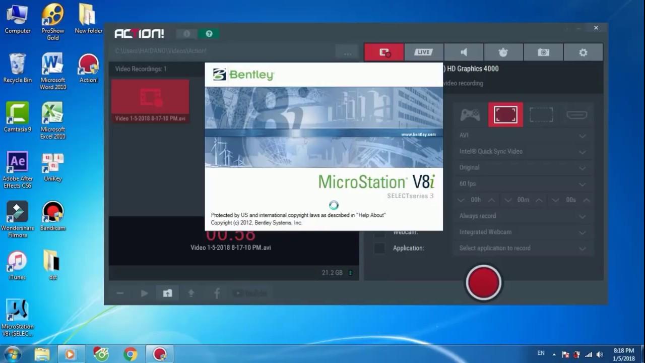 microstation v8i download full crack