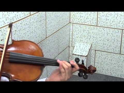 ABRSM Viola Exam Piece 2016-2019 - Grade 2 - C4 Stravinsky  Shrove Tide Fair Theme For Viola