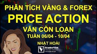 Phân Tích Vàng & Forex Theo Price Action - Vẫn Còn Loạn - Tuần 06/04-10/04
