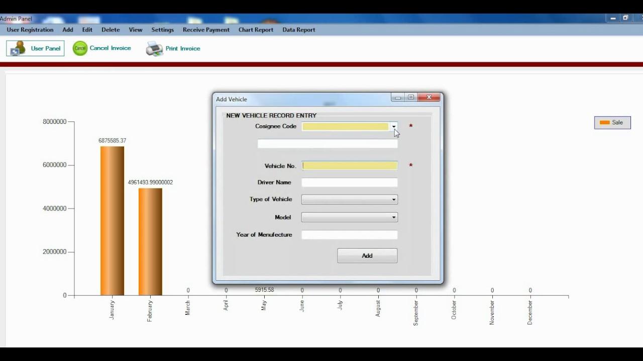Weighing Bridges Invoice Generator Application YouTube - Invoice generator program