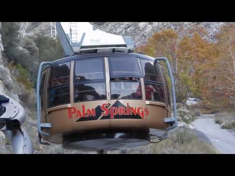 Palm Springs Aerial Tramway Riding up