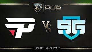 paiN Gaming vs SG e-sports Game 4 - TI8 South America Qualifiers: Grand Finals