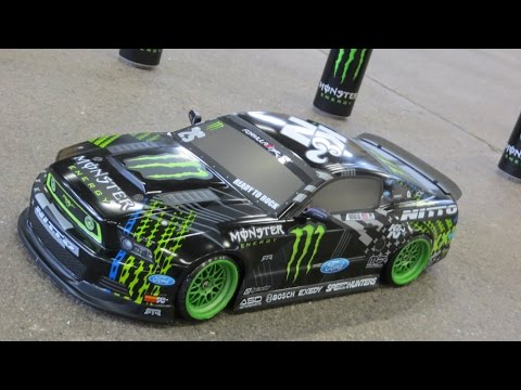 Rc Hpi Ford Mustang Gittin Jr Monster Drift Youtube