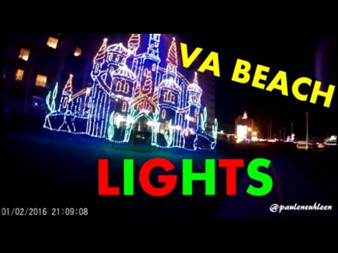 christmas in january va beach lights
