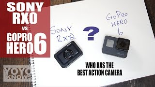GoPro Hero 6 or Sony RX0 | Best Action Camera?