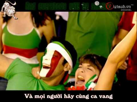 [World cup 2010][karaoke+vietsub] Wavin' Flag K'naan ft. David Bisbal