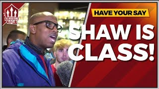 Luke SHAW World Class! Manchester United vs Tottenham 0-3 FANCAM