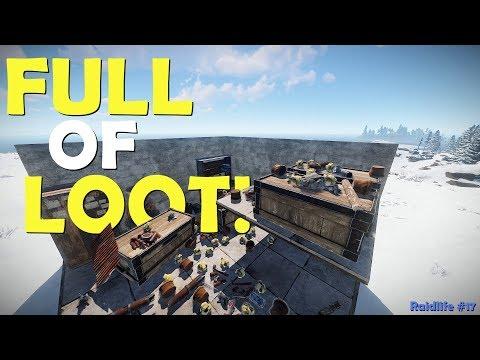 FULL OF LOOT! - Rust - Raid Life #17 thumbnail
