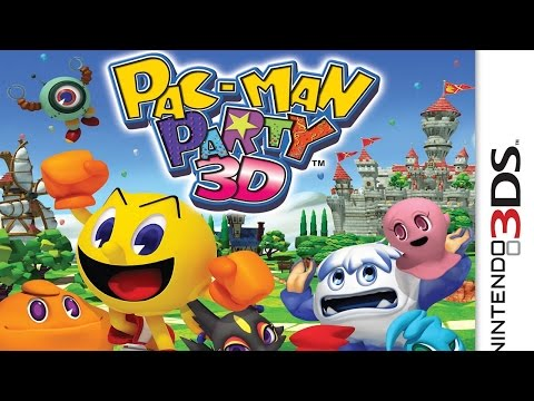 Pac-Man Party 3D Gameplay {Nintendo 3DS} {60 FPS} {1080p}
