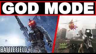 When SAB3LO activate GOD MODE - Battlefield 4