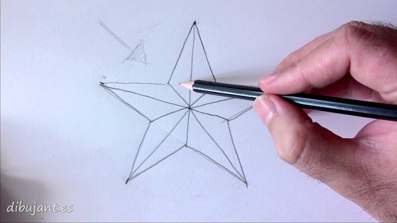 Como dibujar una estrella  YouTube