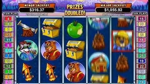 Builder Beaver Slot Machine Bonus Round