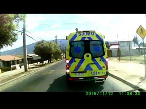 Trayecto Volcamiento Bus Cuesta La Dormida 12 11 2016