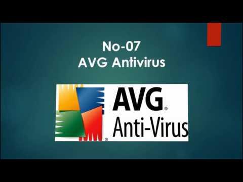 Antivirus software name