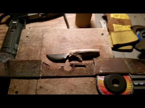 DIY knives using 2 part epoxy