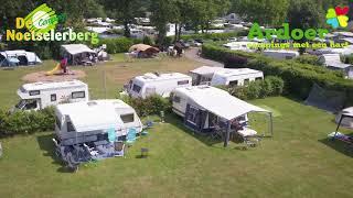 Ardoer camping De Noetselerberg vanuit de lucht