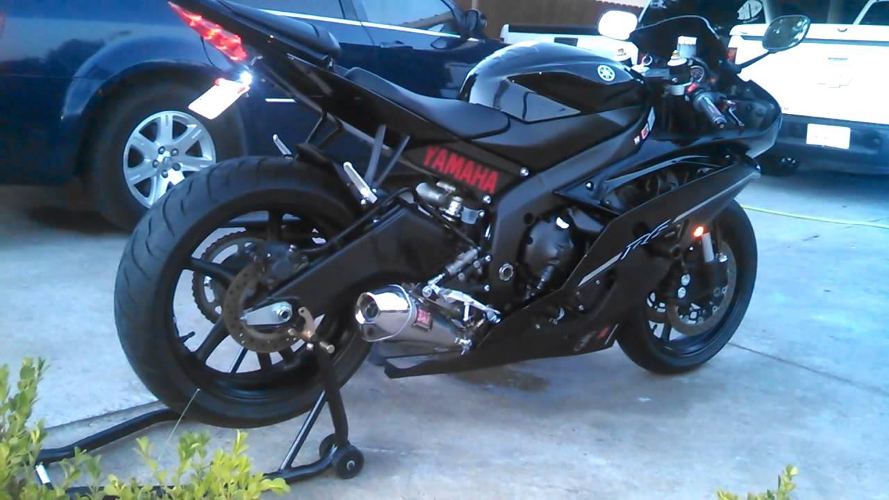 2012 yamaha r6 black
