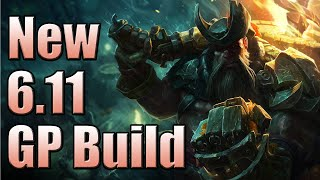 New 6.11+ Gangplank Build (20% CDR TriForce) ||| League of Legends Season 6