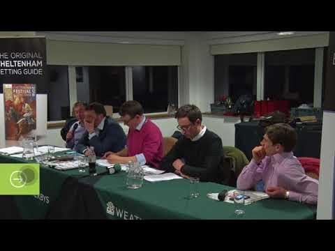 Weatherbys Cheltenham Preview Evening - Part 1