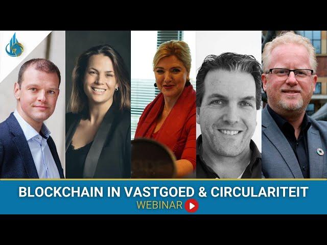 Blockchain in Vastgoed & Circulariteit - Sociëteit Vastgoed Webinars
